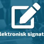 Elektronisk signatur på BetterBoard Styreportalen